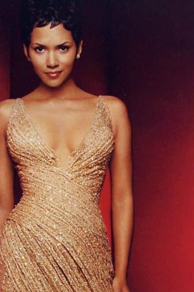 Quelle veste avec robe dorée?