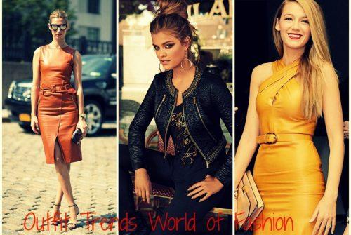 Comment porter une robe en cuir?