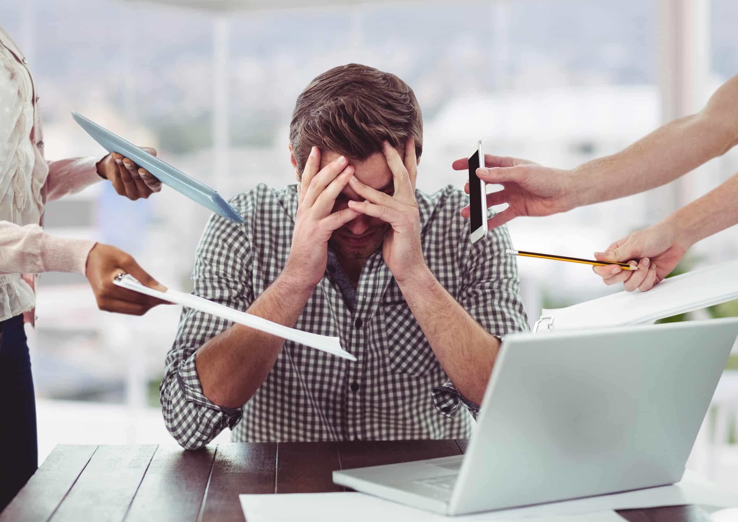 Comment réduire la pression au travail ?